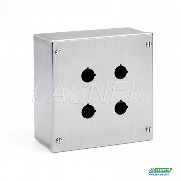 Push Button Box - 22.5mm Hole | KPB-04-22_uk