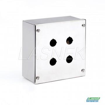 Push Button Box - 22.5mm Hole | MPB-04-22_uk