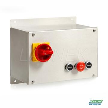 Stainless Steel DOL Reversing With Isolator | DOL-KDRP5.5-230V_uk
